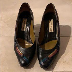 Shoes - Black leather pumps